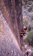 Rock Climbing Photo: Kyu Park starting up Shadow Dancer