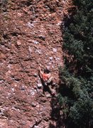 "Rock Climbing Photo: Eric Whitbeck looking ""hooottt"" on Again..."