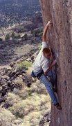 Rock Climbing Photo: Shems BJ on Monsterpiece Theatre. Take the mono, l...