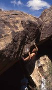 Rock Climbing Photo: Mark? Setting up for the gaston to gaston crux, or...