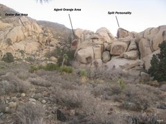 Rock Climbing Photo: Oyster Bar Area overview