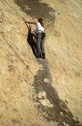 Rock Climbing Photo: Yet another butt shot of Black Tide