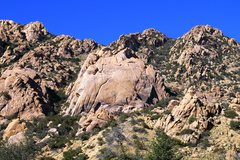 Rock Climbing Photo: Trailhead view of Stronghold Dome
