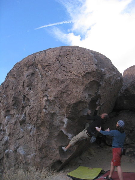 Rock Climbing Photo: Nice holds on the way up
