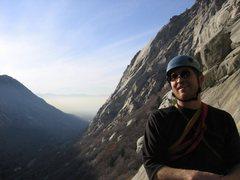 Rock Climbing Photo: The inversion!
