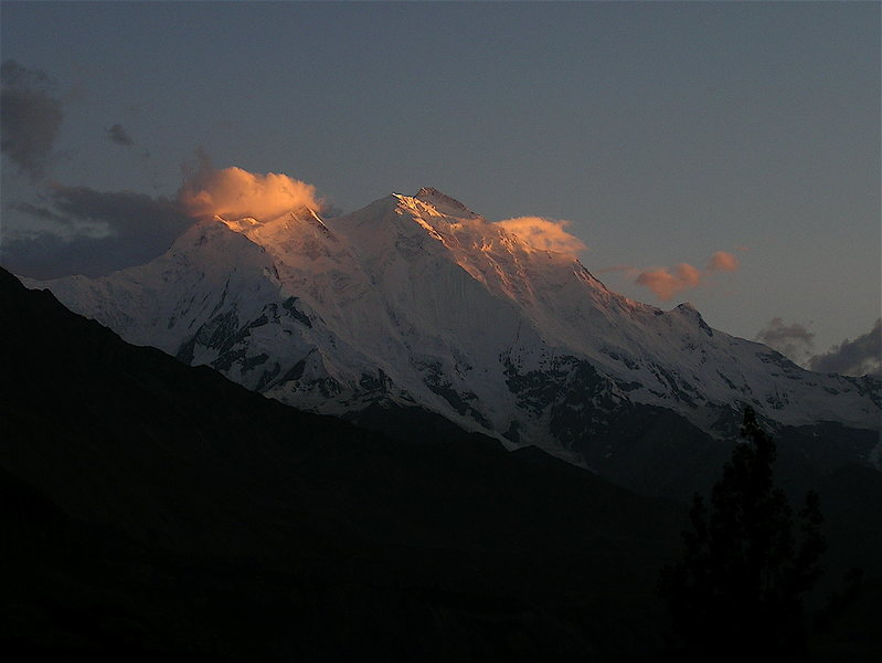 Rakaposhi from Mortazabad