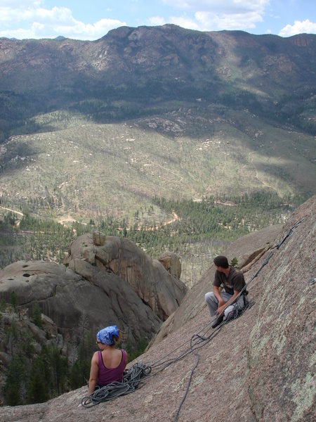 Rock Climbing Photo: View from Helens dome