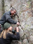 Rock Climbing Photo: Team work