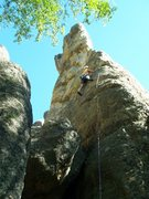 Rock Climbing Photo: The start of the route...