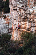 Rock Climbing Photo: One very cool 5.10 called Chinese Algebra. Mt Arap...