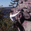 "The ""unbreakable"" Paul Wagener topping out on Sometimes Crack Devil's Lake Wisconsin"