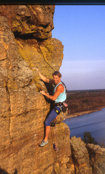 The way I see it, Dave Groth is the most prolific Rock climber the Midwest has seen in the last 25 years.