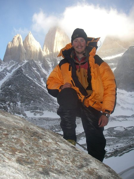 Base camp for Torres del Paine