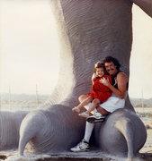 Rock Climbing Photo: Brittany & I 1988