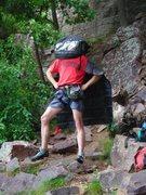 Rock Climbing Photo: Goofball