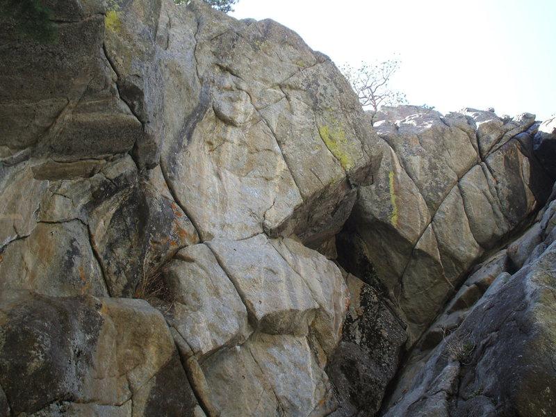 Universal Crag: Photo: Bob Horan.