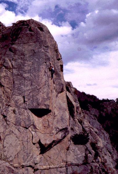 Rock Climbing Photo: Vanishing Point formation. Photo: Bob Horan Collec...
