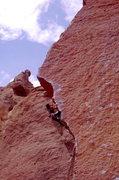 Rock Climbing Photo: Bob Horan on Chain Reaction circa 1987.