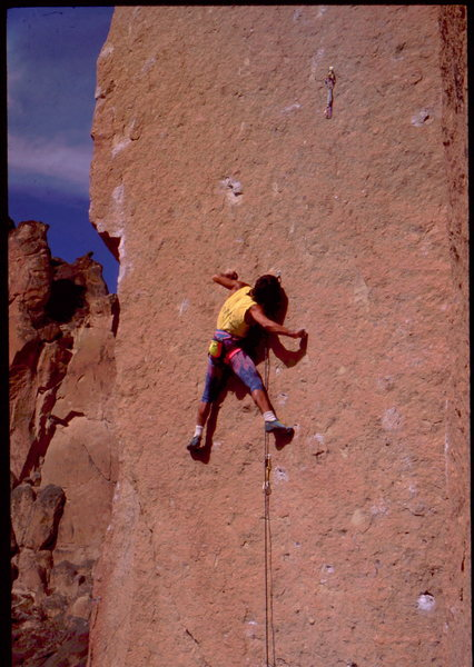Rock Climbing Photo: Bob Horan on 4th or 5th ascent of To Bolt or Not T...