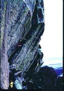 Rock Climbing Photo: Eric Goukas sending Bacon and Ergs. Photo: Bob Hor...