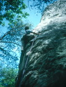 Rock Climbing Photo: New River Gorge, WVA, Angel's Landing