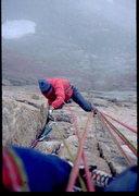 Rock Climbing Photo: Jeff Gruenberg on King of Swords.  Photo: Bob Hora...