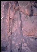 Rock Climbing Photo:  Randy Leavitt  on Natural Selection, Bob Horan Co...