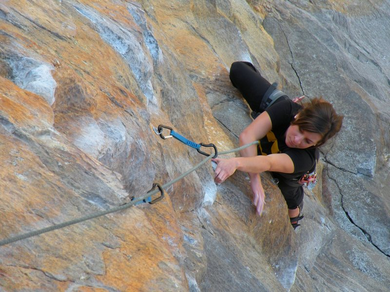 Rock Climbing Photo: Tangerine dream