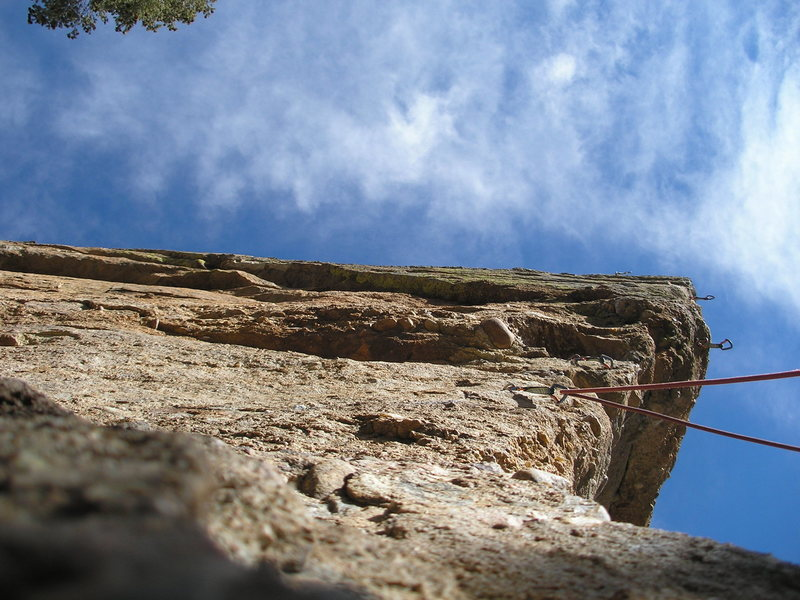 Rock Climbing Photo: Steep and sweet.