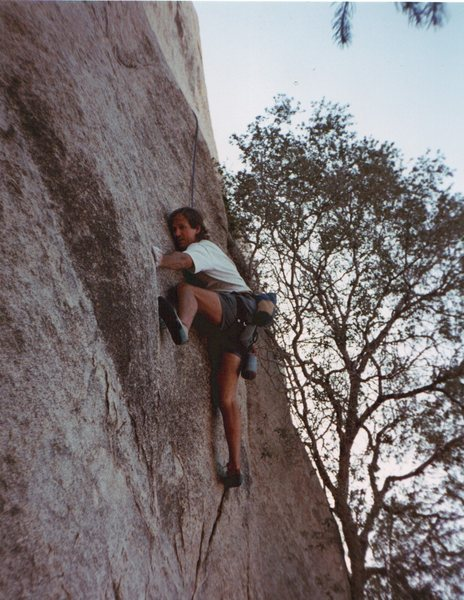 Rock Climbing Photo: The entrance move for Gumby Saves Bambi.