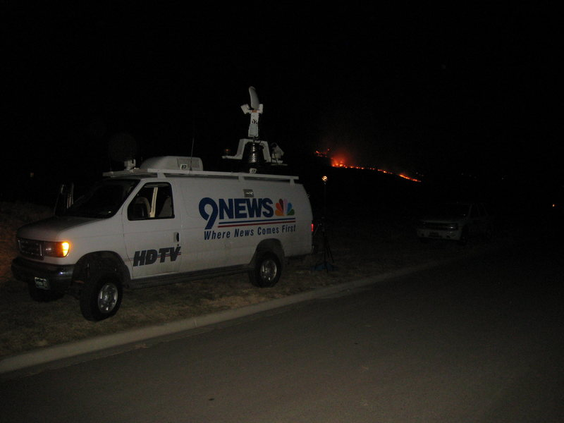 9 News is on the scene...