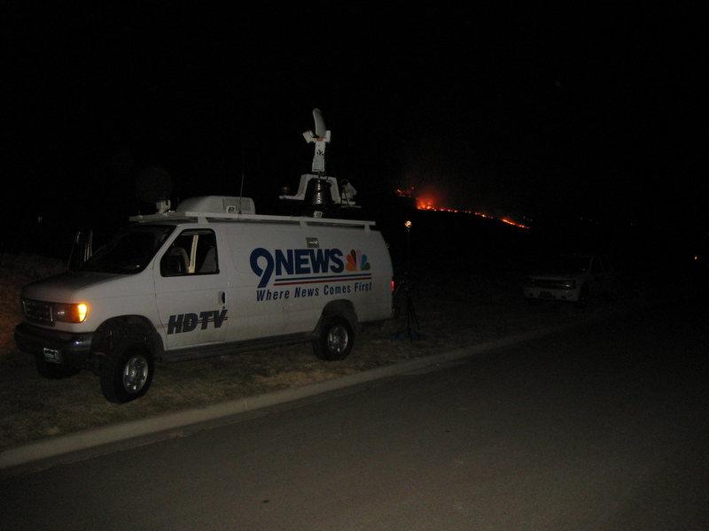 9 News is on the scene...