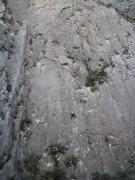Rock Climbing Photo: Anna on Selam