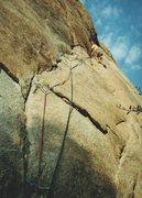 Rock Climbing Photo: Illusion Dweller. Photo - Eric Anderson
