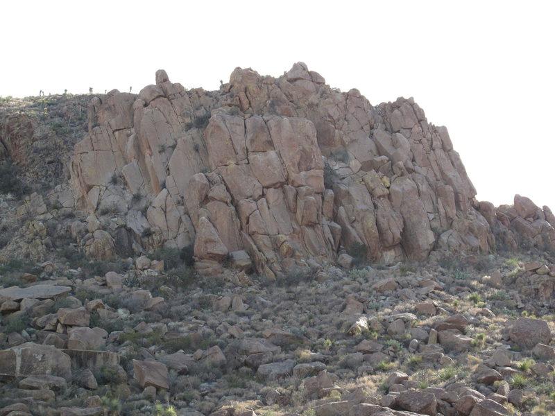 Rock Climbing Photo: Grapevine Hills crag.