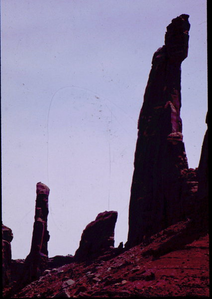 Rock Climbing Photo: Moses with Zeus in the background. Photo: Bob Hora...