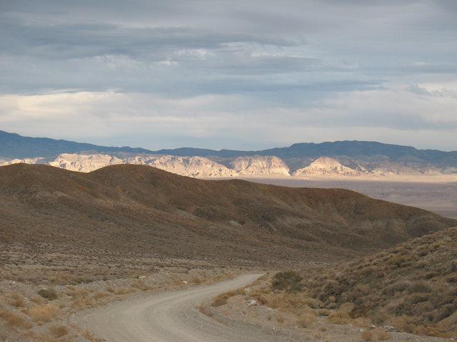 Heading to Blair,  Central Nevada