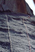 Rock Climbing Photo: On the 2nd Ascent of Childhood's End. Photo: Bob H...