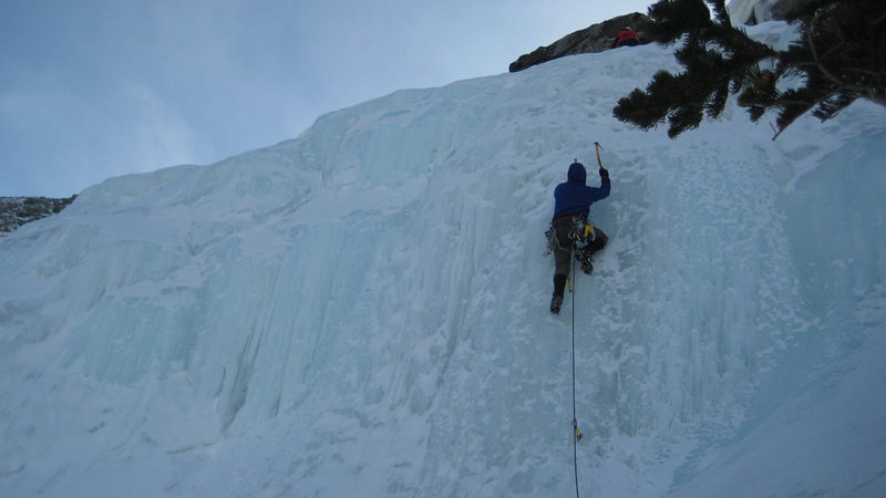 Rock Climbing Photo: Top of the Gully.