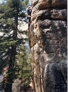 Rock Climbing Photo: Keller Peak Hungover Wall Segments In Space