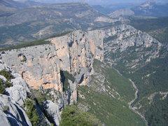 Rock Climbing Photo: Verdon Gorge.