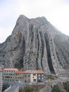 Rock Climbing Photo: The quaint village of Sisteron, an hour's drive so...