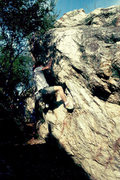 Rock Climbing Photo: Indian Rock, Berkeley, CA.  My research on this ro...