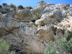 Rock Climbing Photo: Volx.  The rock is remeniscent of Sitting Bull Fal...
