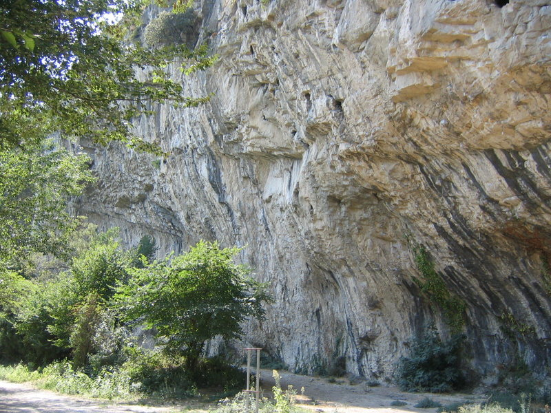 Rock Climbing Photo: The legendary Southern crag of Orgon.  Home to num...