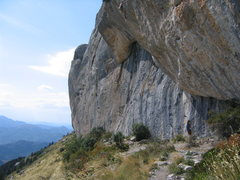 Rock Climbing Photo: Sector Demi Lune.  This is the first crag to recei...