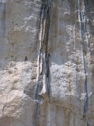 Rock Climbing Photo: The incredible tufas of Les Collenettes.