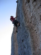 Rock Climbing Photo: San Jons Picos, c. 5.12c.