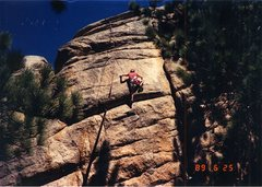 Rock Climbing Photo: Me on the Odenthal Finish a TR variation to Orange...