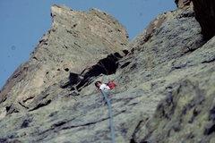 Rock Climbing Photo: On the way to the Petit Grepon. Photo: Bob Horan C...